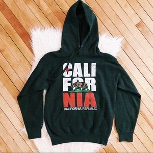California Republic Hoodie Sweater